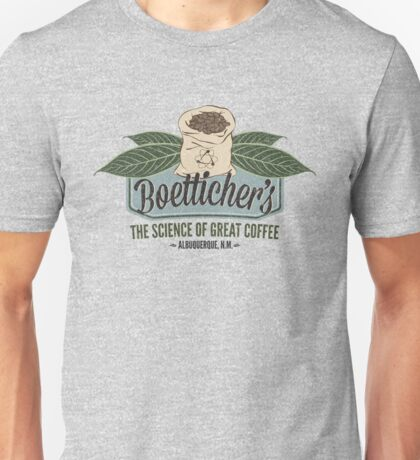 Breaking Bad Inspired - Gale Boetticher's Fair Trade Cafe - Best Coffee in Albuquerque Unisex T-Shirt