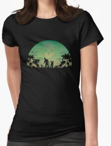 They're Coming! Womens Fitted T-Shirt
