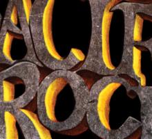 PACIFIC ROCK Sticker