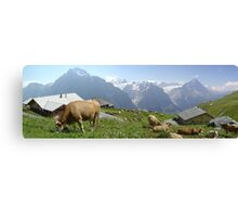 Quintessentially Swiss Canvas Print