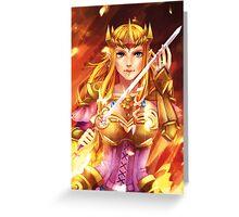 HW Zelda  Greeting Card
