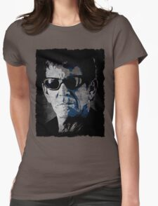 Lou Reed Sunglasses Womens Fitted T-Shirt