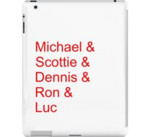 Not-So-Obviously the Best Starting Lineup iPad Case/Skin