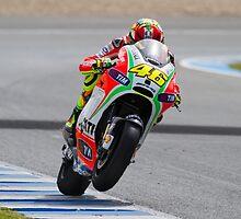 Valentino Rossi in Jerez 2012 by corsefoto