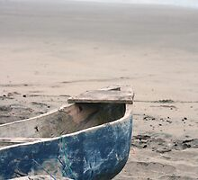 Fishing Boat on the Beach by rhamm