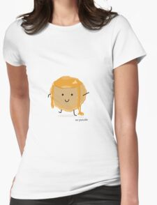 Mr Pancake Womens Fitted T-Shirt