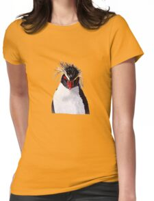 Rockhopper Penguin Womens Fitted T-Shirt