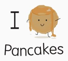 I love pancakes by Elinor Barnes