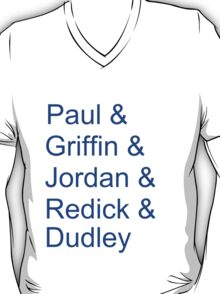 '13-'14 Clippers Lineup T-Shirt