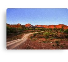 Outback Track (EH1) Canvas Print