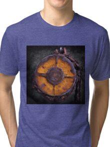 Equipment #02 ... at Whale World  . Tri-blend T-Shirt