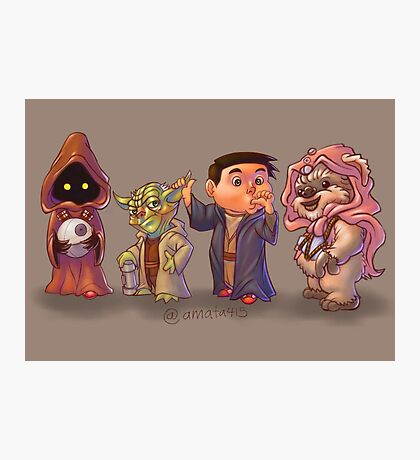 The Star Wars Cute Pack! Photographic Print