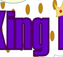 The King B Sticker
