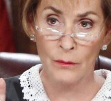 Get Over It ~Judge Judy Sticker