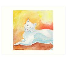 Basking in the Sunshine Art Print