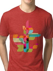 abstract nature Tri-blend T-Shirt