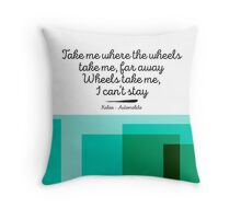 Kaleo - Automobile Throw Pillow
