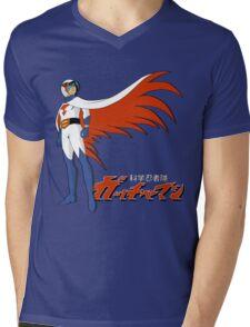 Ken The Eagle Large Mens V-Neck T-Shirt
