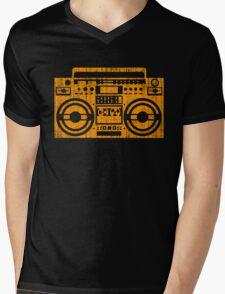 Vintage boombox Mens V-Neck T-Shirt
