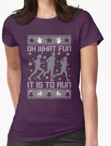 Fun To Run Ugly Christmas Tee T-Shirt
