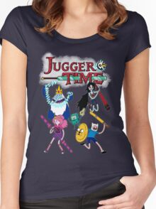 Jugger Time Women's Fitted Scoop T-Shirt