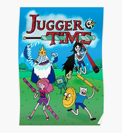 Jugger Time Poster