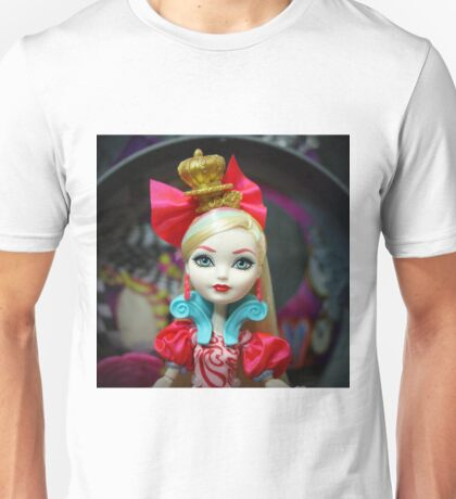 Way Too Wonderland - Apple White Unisex T-Shirt