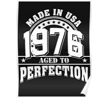 1976 aged to perfection Poster