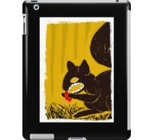 Cute Mr. Squirrel from HELL! iPad Case/Skin