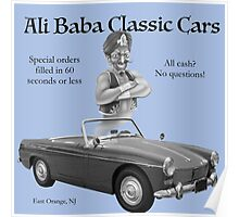 Ali Baba Classic cars Poster