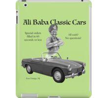 Ali Baba Classic cars iPad Case/Skin
