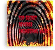 top secret reverse engineering wars Canvas Print