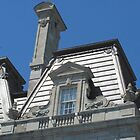 Montreal City Hall: Roof detail II by Mike Shell