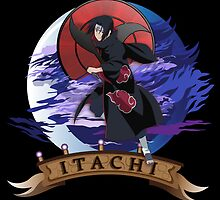 Itachi the Spy by jpmdesign
