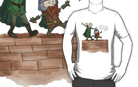 Legolas & Gimli by HelloBox23