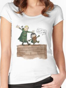 Legolas & Gimli Women's Fitted Scoop T-Shirt