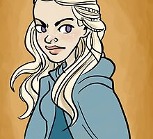 Queen Dany by quietsnooze