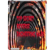 top secret reverse engineering wars iPad Case/Skin