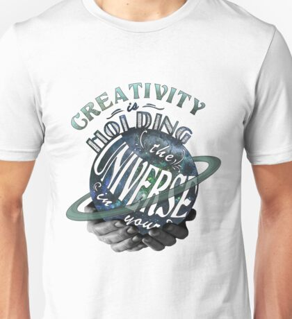 Universe in your Hands Unisex T-Shirt