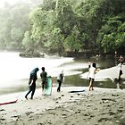 Batu Karas Rain by wellman