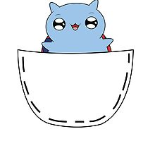 Catbug kangaroo pouch by Asianware