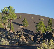 Sunset Crater At Sunset by DavidHintz