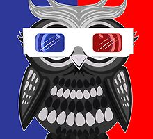 Owl - 3D Glasses by Adamzworld