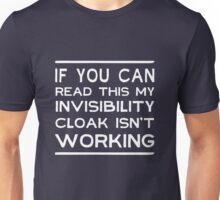 Invisibility Cloaking Unisex T-Shirt