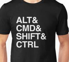Computer Commands Unisex T-Shirt