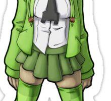 Creeper Girl Sticker