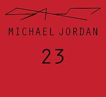 Michael Jordan by thesilentrogue