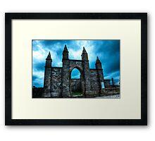 Church Ruins  - Front Framed Print