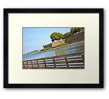 Pier in Puerto Rico Framed Print