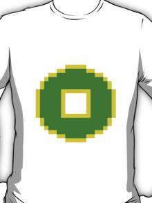 8bit Earth Kingdom Emblem - 3nigma T-Shirt